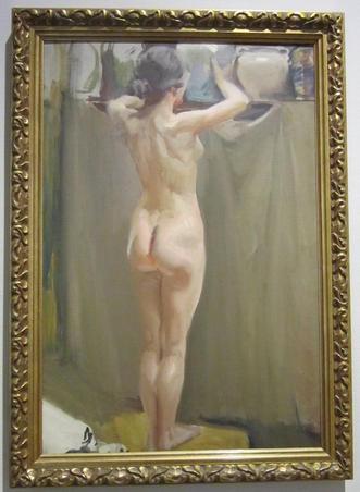 Nud, Sorolla