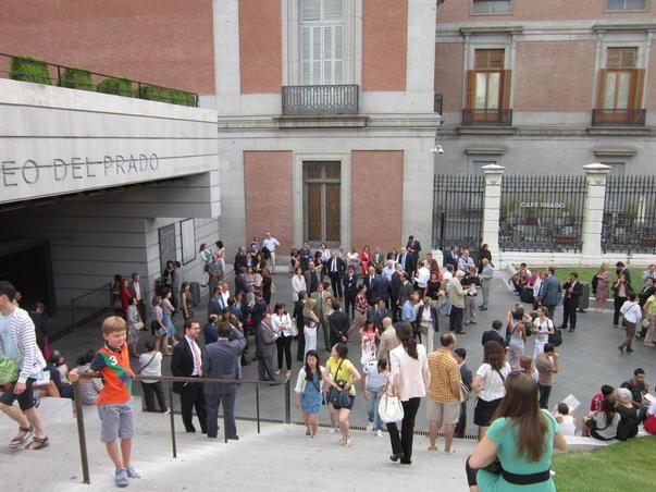 Iesirea din Muzeul Prado
