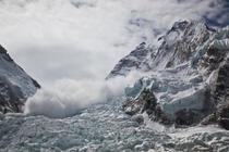 Avalansa in Himalaya