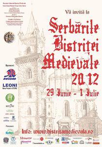 Serbarile Bistritei Medievale 2012