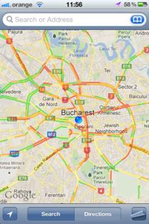 Date de trafic in timp real pentru Bucuresti si autostrazi