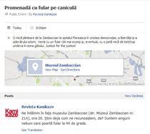Initiativa pe Facebook