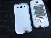 Incident cu Galaxy SIII