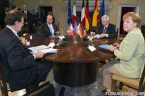 Rajoy, Hollande, Monti si Merkel
