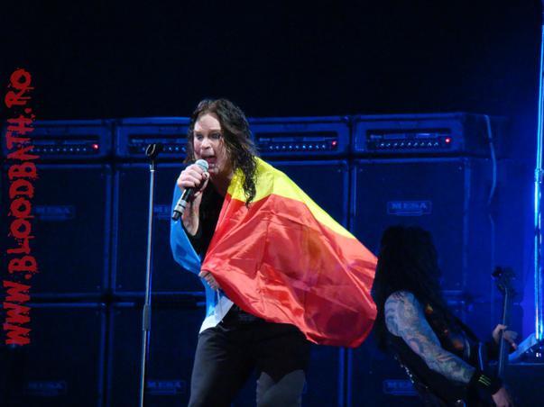 Ozzy Osbourne Bucuresti 2010