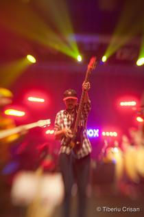 Sorin Erhan - Urma in timpul unui concert sustinut la Jukebox Club