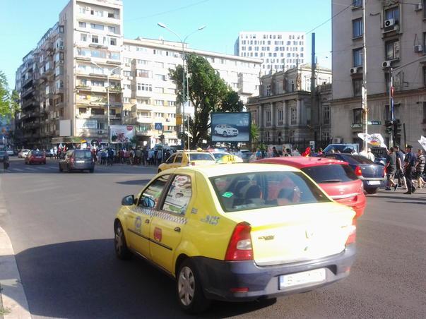 Peste 300 de persoane au cerut in Bucuresti, pe 28 iunie 2012 Unirea Basarabiei cu Romania (3)