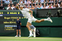 "Federer - in ""optimi"" la Wimbledon"