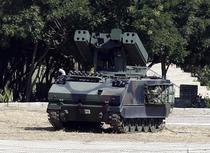 Lansator de rachete la granita Turciei cu Siria