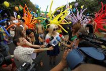 Marsul Diversitatii, organizat de Asociatia Accept in cadrul GayFest 2012