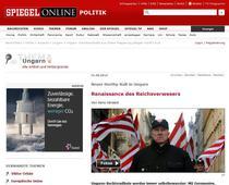 Captura articol despre Ungaria