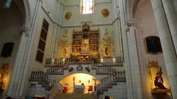 Interior Catedrala Almudena