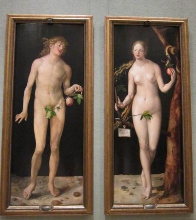 Adam si Eva de Albrecht Durer