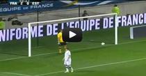 Karim Benzema, gol superb contra Estoniei