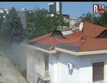 Casa din Kiseleff 45, arsa
