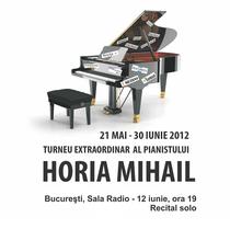 Horia Mihail si Pianul calator la Bucuresti
