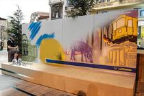 Street-art berlinez la Bucuresti