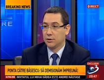 Victor Ponta la Antena 3