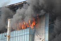 FOTOGALERIE Incendiul de langa Podul Ciurel