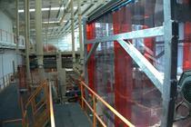Presa de PAL din noua unitate de productie Kastamonu Romania