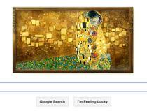 Logo Google, omagiu Gustav Klimt