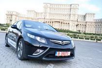 Opel Ampera in Piata Constitutiei