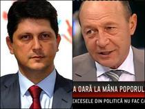 Titus Corlatean si Traian Basescu
