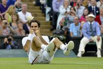 Roger Federer, fericit dupa victoria de la Wimbledon