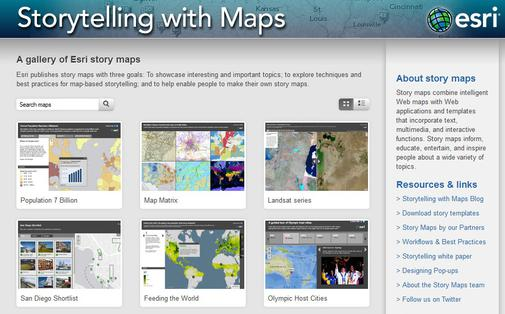 Storytelling with Maps