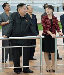 Kim Jong-un si sotia sa