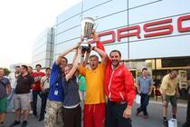 Echipa Ucrainei la Porsche Performance Drive 2012