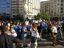 FOTOGALERIE Piata Victoriei, proteste anti-USL