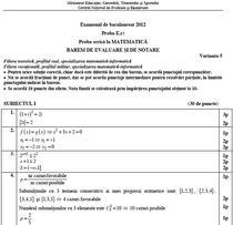 Barem Matematica