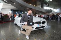 Patrick Zanker - vizitatorul BMW Welt cu numarul zece milioane