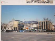 "FOTOGALERIE Ce doresc proprietarii sa construiasca in curtea cladirii ""Cina"""