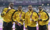 Jamaica, fara rival in proba de 4X100 de metri