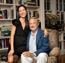 George Soros si logodnica sa Tamiko Bolton