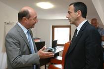 FOTOGALERIE Intalnire Philip Gordon - Traian Basescu