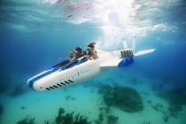 """Necker Nymph a fost numit """"avionul subacvatic"""" datorita sistemului special cu ajutorul caruia se scufunda"""