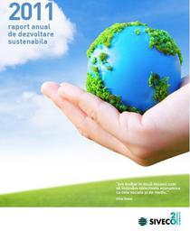 Raport anual de dezvoltare sustenabila 2011