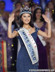 Yu Wenxia, noua Miss World