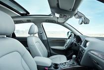 Interior Audi Q5 cu plafon vitrat