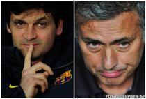 Tito Vilanova vs. Jose Mourinho