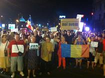 Protest in Piata Universitatii (22 august)