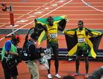 Usain Bolt si Yohan Blake