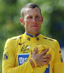 Lance Armstrong la al 7lea titlu la Paris (2005)