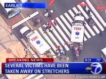 Impuscaturi in centrul New York-ului