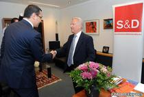 Hannes Swoboda, seful socialistilor europeni