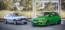 Opel Corsa 30 ani