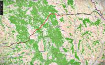 Traseul Autostrazii Tg. Mures - Iasi
